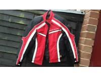 Frank Thomas motor cycle jacket