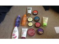 Body and shower items