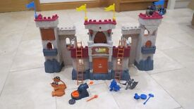 Imaginext Castle & Accessories Knights Battle Lights & Sounds, Fisher Price