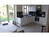 COMPLETELY BRAND NEW 3 double bedroom split level maisonette located next to station