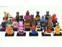 LEGO BATMAN MINIFIGURES COMPLETE SET OF 20.