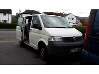 VW Transporter Kombi, 5 seater, 2 sliding doors, 2006