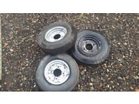 3 IFOR Williams tyres for sale