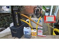 Vaillant boiler and filter installation powerflush gas safe power flush landlord certyficate service