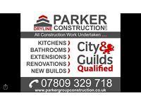 construction /extensions/new builds / renovations / garage conversions / loft conversion/ bathrooms