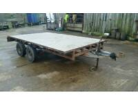 Ifor williams flat bed