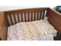 Mamas & Papas Solid Oak Ocean Cot Bed