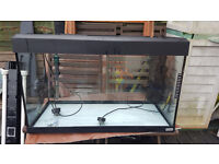 Fluval fish tank inc Fluval U4 internal filter