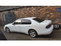 """Genuine Japanese 16"""" turbine alloys 300zx lexus Fto mr2 Gto 5x114 with stretched Continental tyres"""