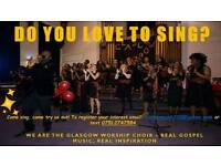 Singers Wanted for Glasgow Worship Choir