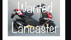 Aprilia sr 50cc in lancaster,morecambe,heysham