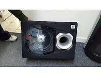 JBL subwoofer with amplifier fully working £100