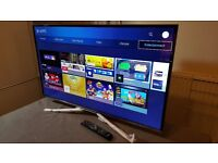 """SAMSUNG 40"""" Smart 4K UHD HDR LED TV-UE40KU6020,built in Wifi,BLUETOOTH,Freeview,Excellent condition"""