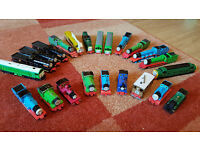 23x Thomas The Tank Engine, ERTL Metal Narrow Gauge Engines