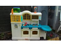 Little tykes country kitchen for playhouse house garden bedroom childtens kitchrn