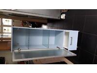 Free standing Ikea bathroom cabinet