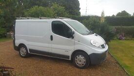 Renault Trafic van, 2010, 2.0 cdti, swb, sl29, low miles, No VAT!
