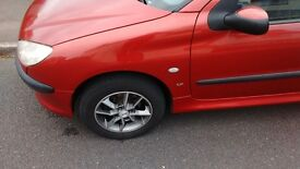Peugeot 206, 2002, 1.1, Petrol, well taken care of, plenty of new parts, ideal first car