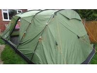 Vango Samara 600 6 birth tent + free footprint