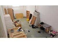 Huge Artist Studio/Wood Workshop To Share With Two Artists/Fabricators