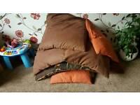 Loads of sofa cushions (TWO PICS)