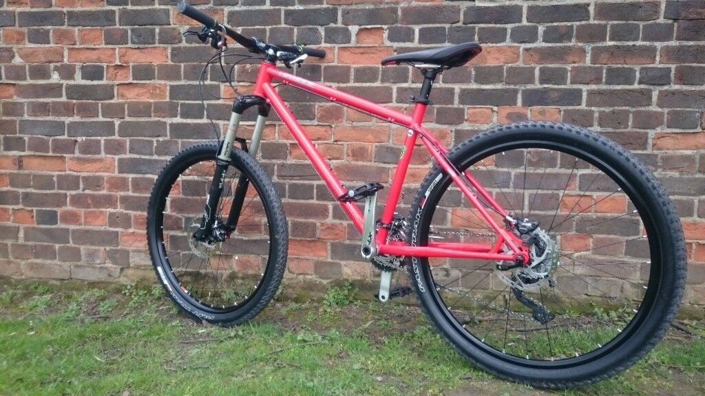 Genesis Latitude Reynolds 853 steel mountain bike Shimano XT Thomson ...