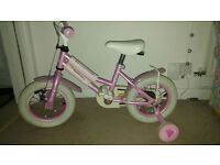 12 inch pink bike