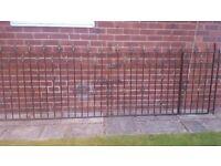 Wrought iron gates (11 foot)