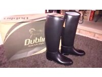 NEW Dublin horse ridding wellie boots size 6