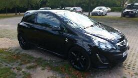 Vauxhall corsa limited edition 8700miles