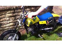 italijet buster 50cc childs motocross bike