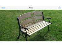 Beechwood Love Heart Seat