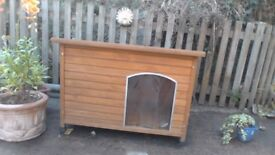 Pets Imperial Extra Large Wooden Dog Kennel