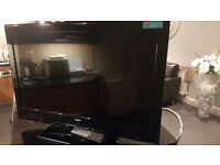 Bush 32inch TV with built in Dvd