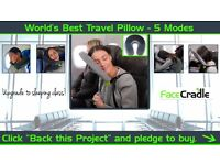 Facecradle Travel Pillow Brand New