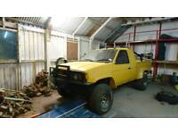 Nissan D21 Pick Up Truck