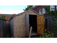 Large garden shed for sale