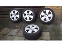 """18"""" Mercedes S Class W221 Alloy Wheels + Tyres_Car parts available"""