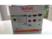 Tefal Ingenio 13 piece aluminium pan set