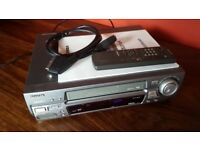 AIWA FX5500K VHS recorder, with remote & cables, excellent condition