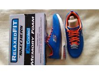 Mens Skechers Skech-Air Infinity Memory Foam Trainers Fitness Shoes Size UK 10.5 - RRP £54 NEW