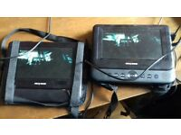 Nextbase Duo Twin Screen Portable DVD Player with Car Safe