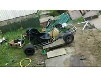200cc 4 stroke project 1 racing go kart