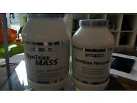 Gainer and recovery post workout casein Syntech Brand new sealed protein mix creatin RRP: £120