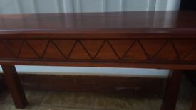 Console side dressing hallway table