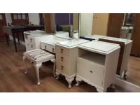 Dressing Table, Foot Stool & 2 Bedside Cabinets Can Be Bought Separately