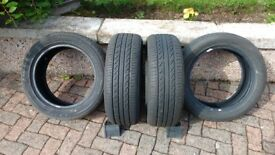 4 tyres for Vauxhall Corsa
