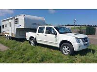 Gulf Stream 21FMS Fifth Wheel Trailer / Caravan - 6 Berth - Includes Pickup - Summer Sale