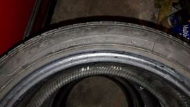 Goodyear eagle F1 tyres. 195 45 15
