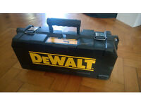 Dewalt Angle Grinder Carry Case, handle and tool. Unused.